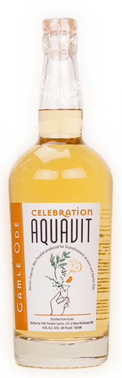 45th parallel distillery celebration aquavit