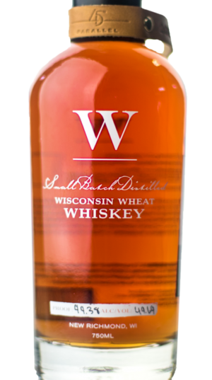 45th parallel distillery straight wheat whiskey